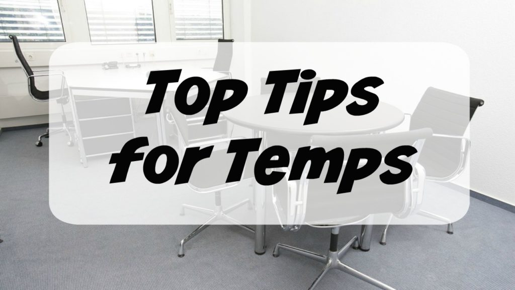 Top Tips for Temps