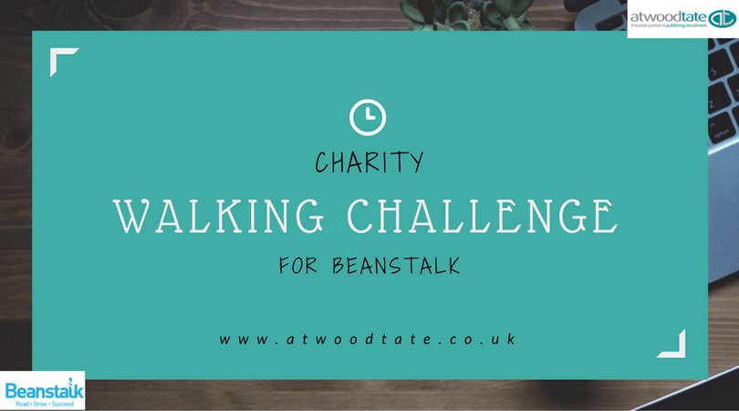 Charity Walking Challenge Blog Header