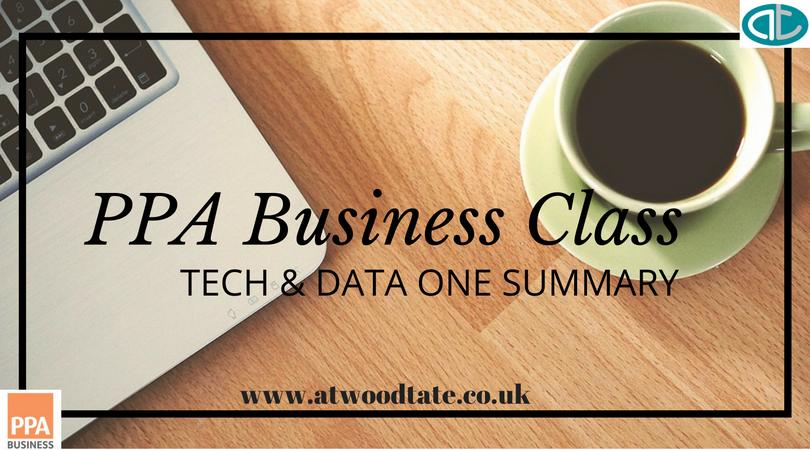 PPA Business Class: Tech & Data one