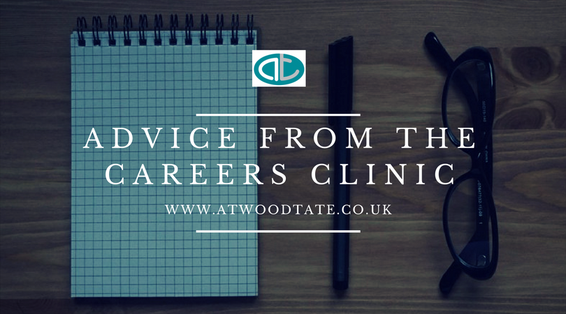 Advice from the Careers Clinic