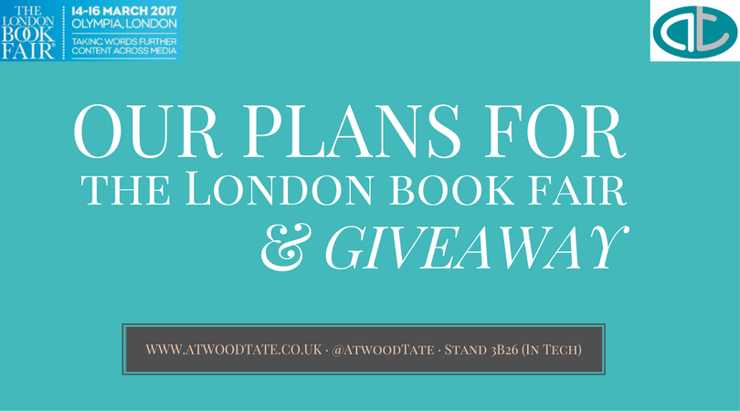 Plans for London Book Fair & Giveaway