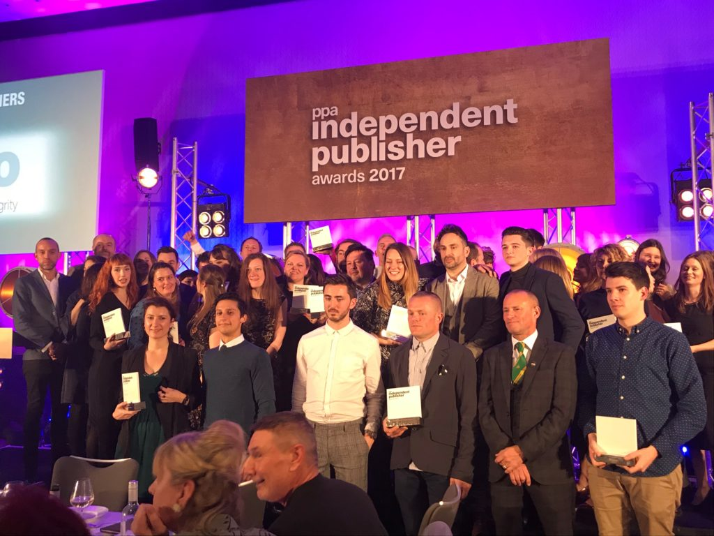 PPA Independent Publisher Awards winners